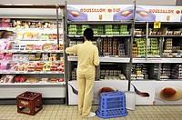 Supermarket, France