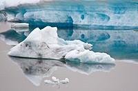 Jökulsarlón glacial lagoon  Iceland east  Polar regions