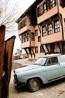 Photograph of the street of Plovdiv Bulgaria