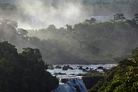 Photograph of the Iguacu Waterfalls in Argentina