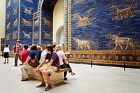 Museum Island Pergamonmuseum  Gate of the Gods, Babylonia  Berlin  Germany