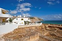 Roman publi bath in Praia da Luz, Algarve, Portugal