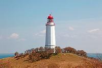 Lighthouse Dornbusch on Hiddensee Island, Germany