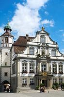 Town hall, Wangen im Allgaeu, Baden_Wuerttemberg, Germany, Europe