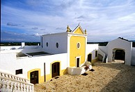 Italy,South,Puglia region,Fasano village,Saint Marco manor farm,outside