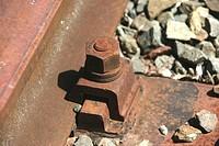 nut auf a railway