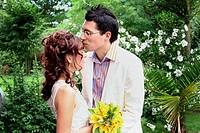 bride and groom,bridal pair