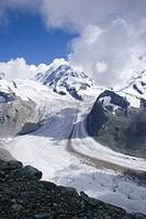 Gornergrat glacier, Swiss Alps