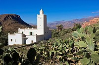 Mosque in Emintizght, a Berber village in the Anti Atlas mountains, Morocco