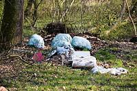 illegal dump