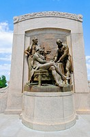 Founding Fathers Statue State Capitol Jefferson City Missouri