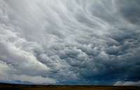 Storm clouds, Wyoming, USA