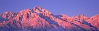 Sunrise at 14,494 feet, Mount Whitney near Lone Pine, California
