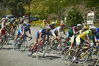 Men´s Professional category of the Garrett Lemire Memorial Grand Prix National Racing Circuit NRC on April 10, 2005 in Ojai, CA