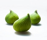 Figs against a white background