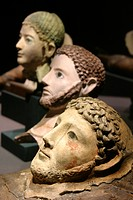 Roman death masks, Alexandria National Museum