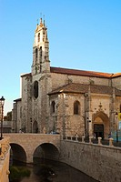 San Lesmes Church. Route to Santiago. Burgos. Castilla-Leon. Spain.