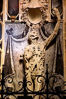 France, Lorraine province, Departement of Meuse 55, Bar le Duc   The ´Transi´ of René Chalon created by the artist Ligier Richier is a surprising stat...