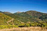 Pando Mountain Pass. Prioro. Leon province. Castilla y Leon. Spain