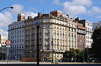 Buildings in Retiro district, Buenos Aires, Argentina