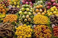 various fruits/vegetables, Boqueria Market