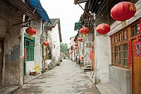 China, guangxi province, xingping street