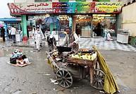 foodseller in kabul, afghanistan