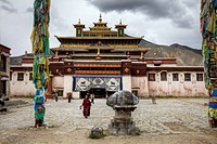 Samye, Tibet´s first monastery was constructed in the 8th century.