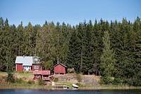 Linnansaari lake, National Park of Linnansaari, Southern Savonia, Finland
