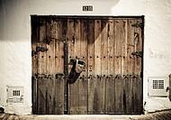 old door, Bogota, Colombia