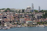 Suleymaniye Moschee at the Golden Horn, Istanbul, Turkey, Europe