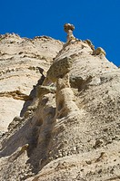 Kasha-Katuwe Tent Rocks National Monument, New Mexico was designated a National Monument in January 17, 2001  The cone shaped tent rock formations wer...