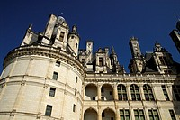 Chateau of Chambord XVIth Cent., Loire Valley, France