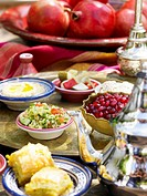 Mezze appetisers from Arabia