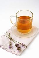 Lavender infusion  Lavandula officinalis