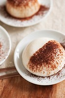 Panna cotta with cocoa