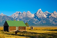 Tetons from Mormon Row, Grand Teton National Park