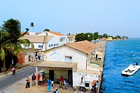 Senegal _ Saint_Louis _ North island district _ Roume Quay