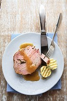 Arista agli agrumi roast pork in a citrus marinade