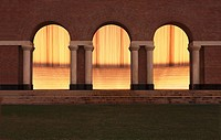 Williams Waterwall Arches Night - Houston, Texas
