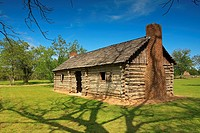 Dogtrot Cabin - San Feilpe, Texas  Located on the original town site of San Feilpe, this 1800's dogtrot cabin replica stands among other historical st...