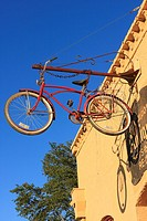 Bicycle at Emporium Antiques 1852 Union Hall Bldg - Bastrop, Texas