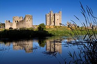 Trim castle on the banks of the River Boyne.
