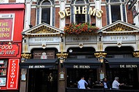 The pub De Hems, Soho, London. United Kingdom.