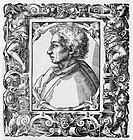 Leon Battista Alberti 1404_1472, Florentine artist and polymath. Alberti was born at Genoa and educated at Padua. In 1418 he went to Bologna to study ...