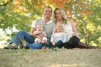 a family portrait in a park, gresham, oregon, united states of america