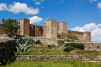 castle, trujillo, cáceres, spain