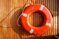 Lifebuoy at the Center for Wooden Boats - Seattle, Washington