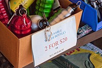street, gift shop, bottles,water bottles, sale,on sale ,two by 20