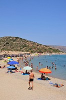 Vai beach, Lasithi, Crete island, Greece